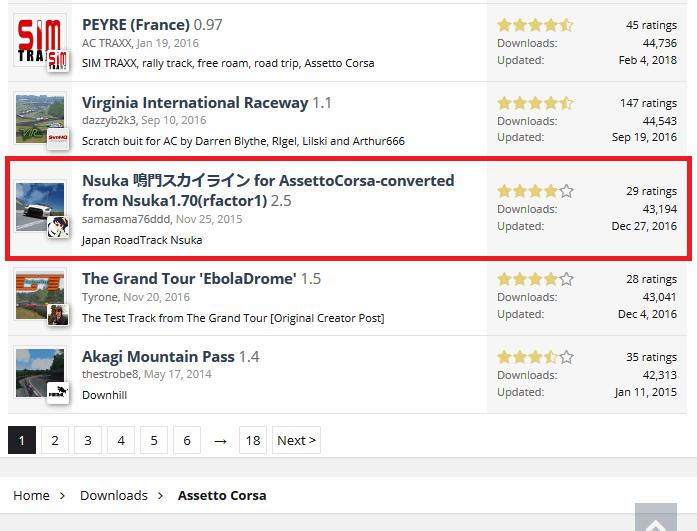 Assetto CorsaのModで鳴門スカイラインを走る~racedepartment
